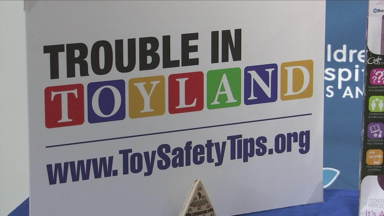Trouble in Toyland report put childrens toys on the danger list