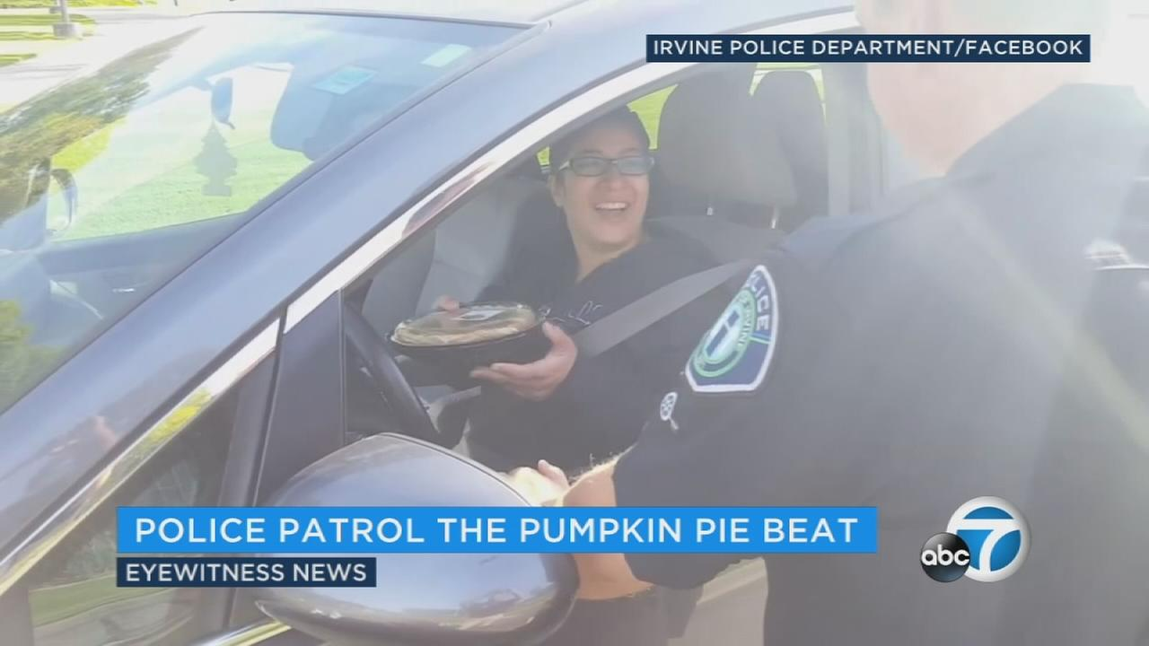 Irvine police officers are out in force this long holiday weekend, but its not what you might think.