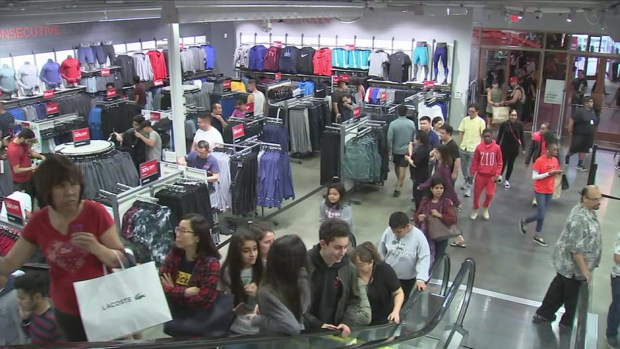 Black Friday started Thursday night at many Southern California stores.