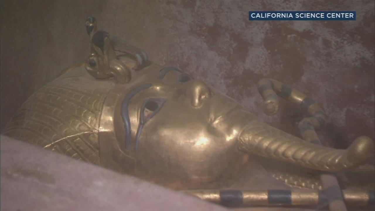 King Tut exhibit featuring more than 150 artifacts coming to California Science Center in 2018