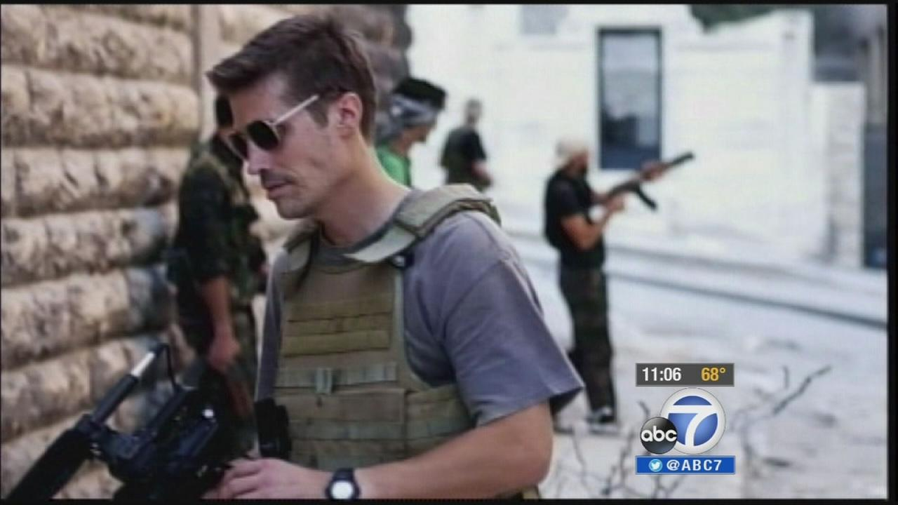 James Foley is seen in this undated file photo.
