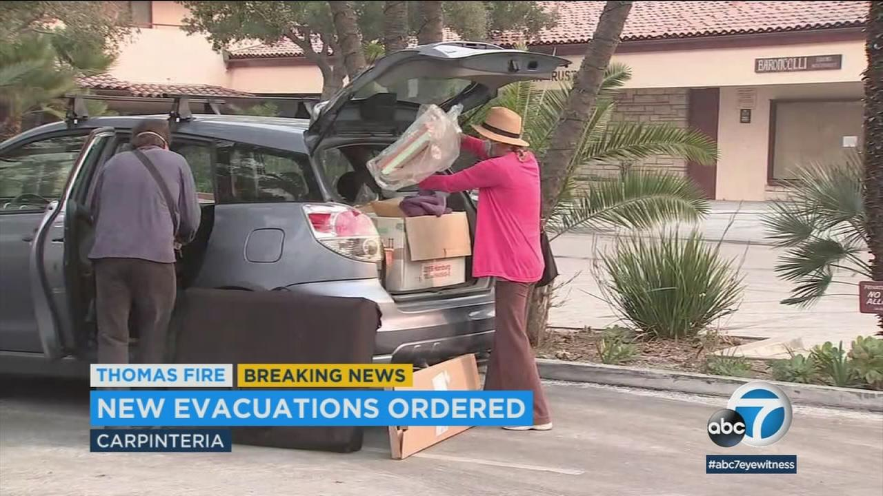 Thousands of families in Santa Barbara and Ventura counties have been forced to evacuate as the Thomas Fire grows to at least 200,000 acres.