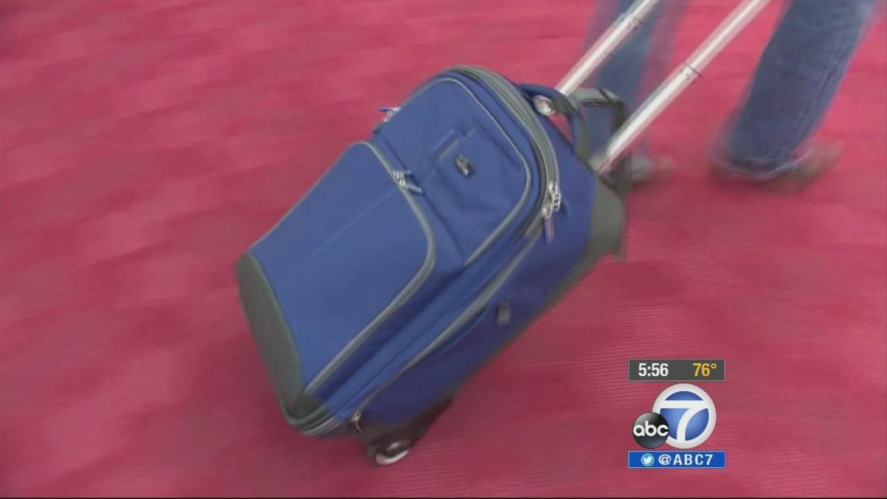 Luggage is seen in this undated file photo.
