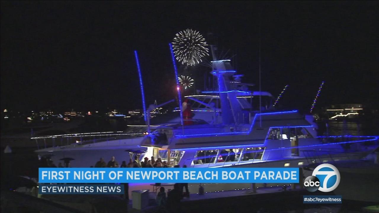Wednesday marks the first night of the annual Christmas Boat Parade in Newport Beach.