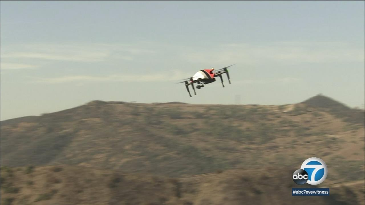 The Los Angeles Fire Department is now using drones as another tool to fight fires.