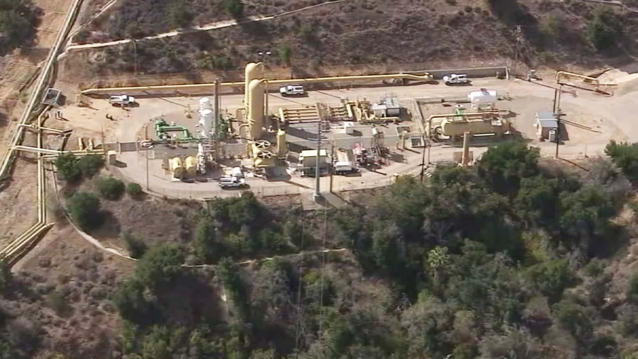 The Aliso Canyon storage facility is seen in this undated file photo.