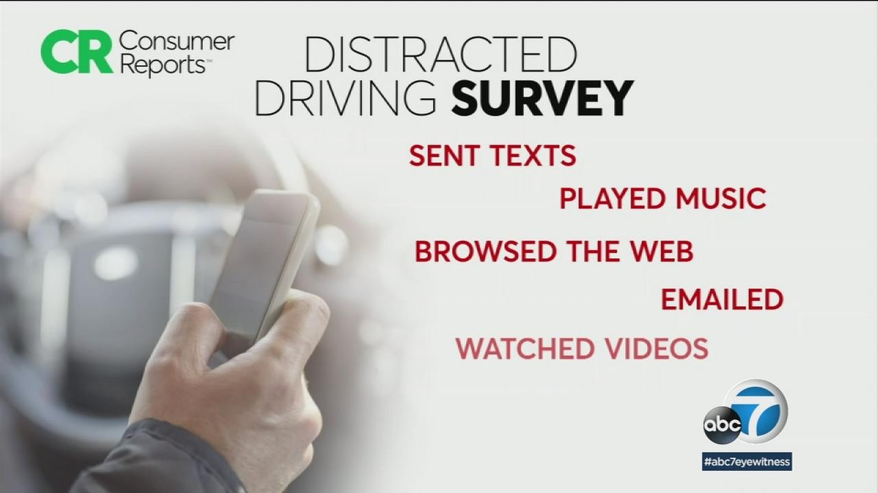 Car crash deaths are on the rise and many experts believe driver distraction from smartphones remains a problem.