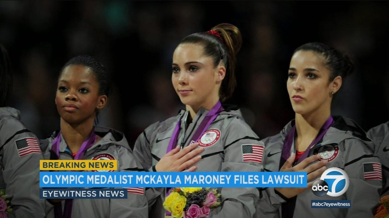 A lawsuit filed by attorneys for gold-medalist McKayla Maroney alleges Michigan State University and the US Olympic Committee failed to properly investigate the team doctor.