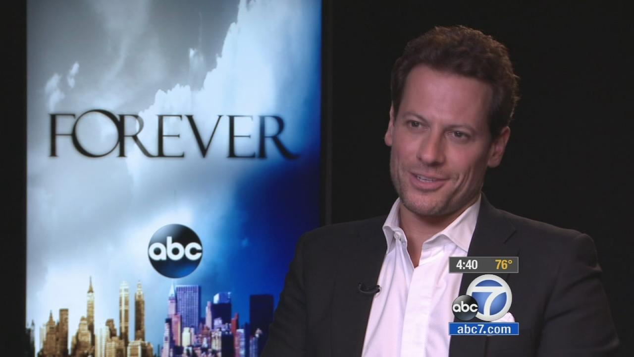Actor Ioan Gruffudd promotes his latest television show Forever.
