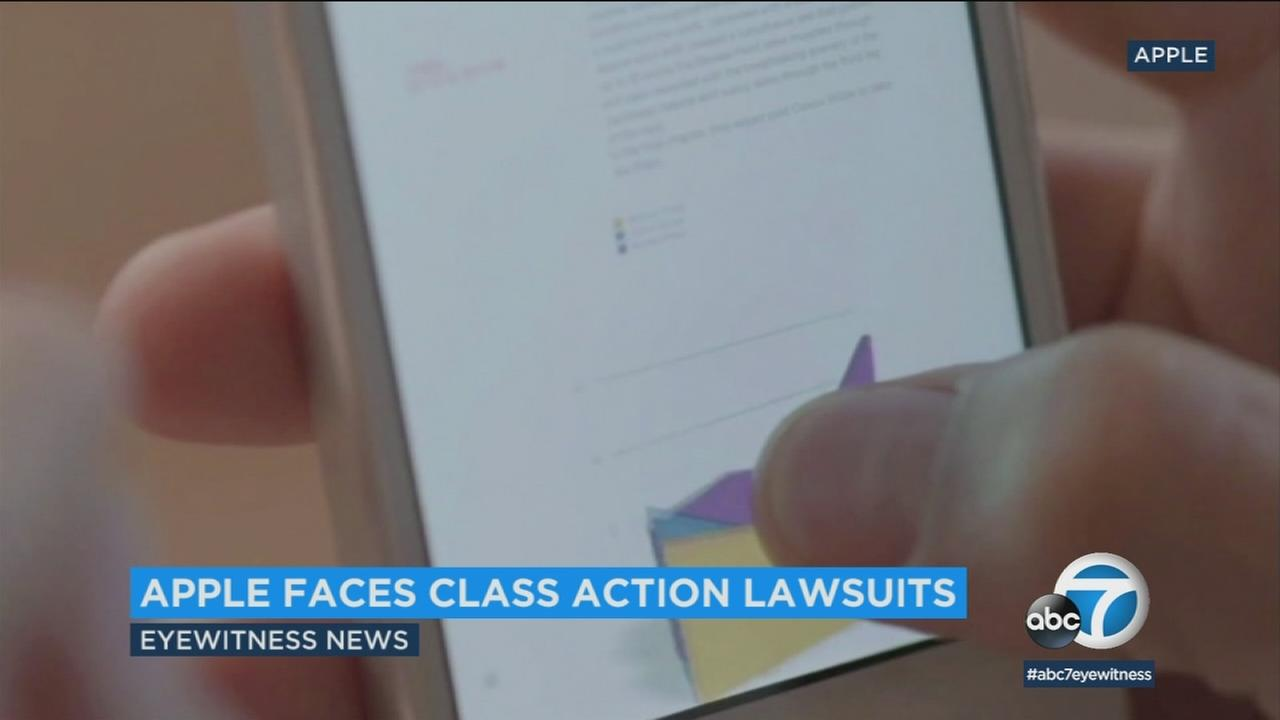 A California man has filed one of several class action lawsuits after Apple admitted to deliberately slowing down older iPhones.