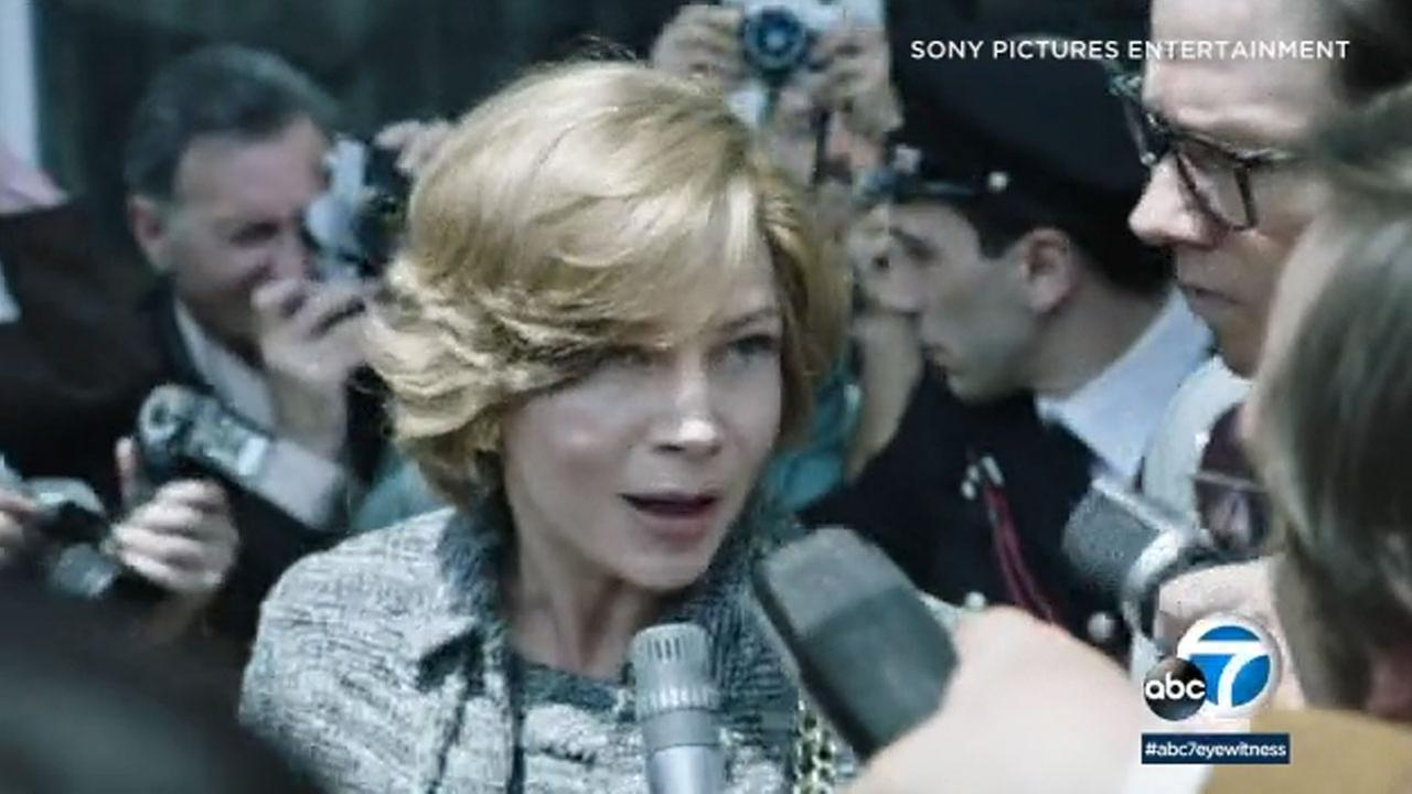 Michelle Williams plays a mother desperate to save her kidnapped child in the new fact-based drama All the Money in the World.