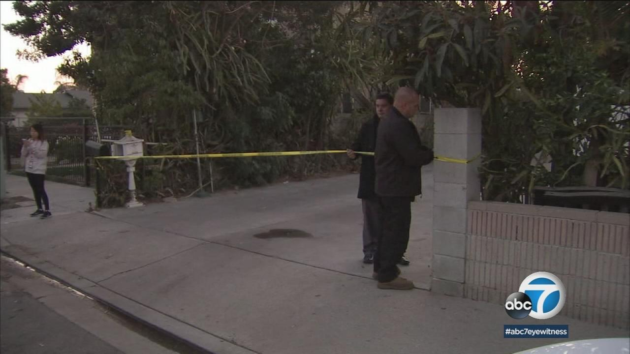 Police are investigating the deaths of a man and a woman who were found with stab wounds in Baldwin Park Tuesday.