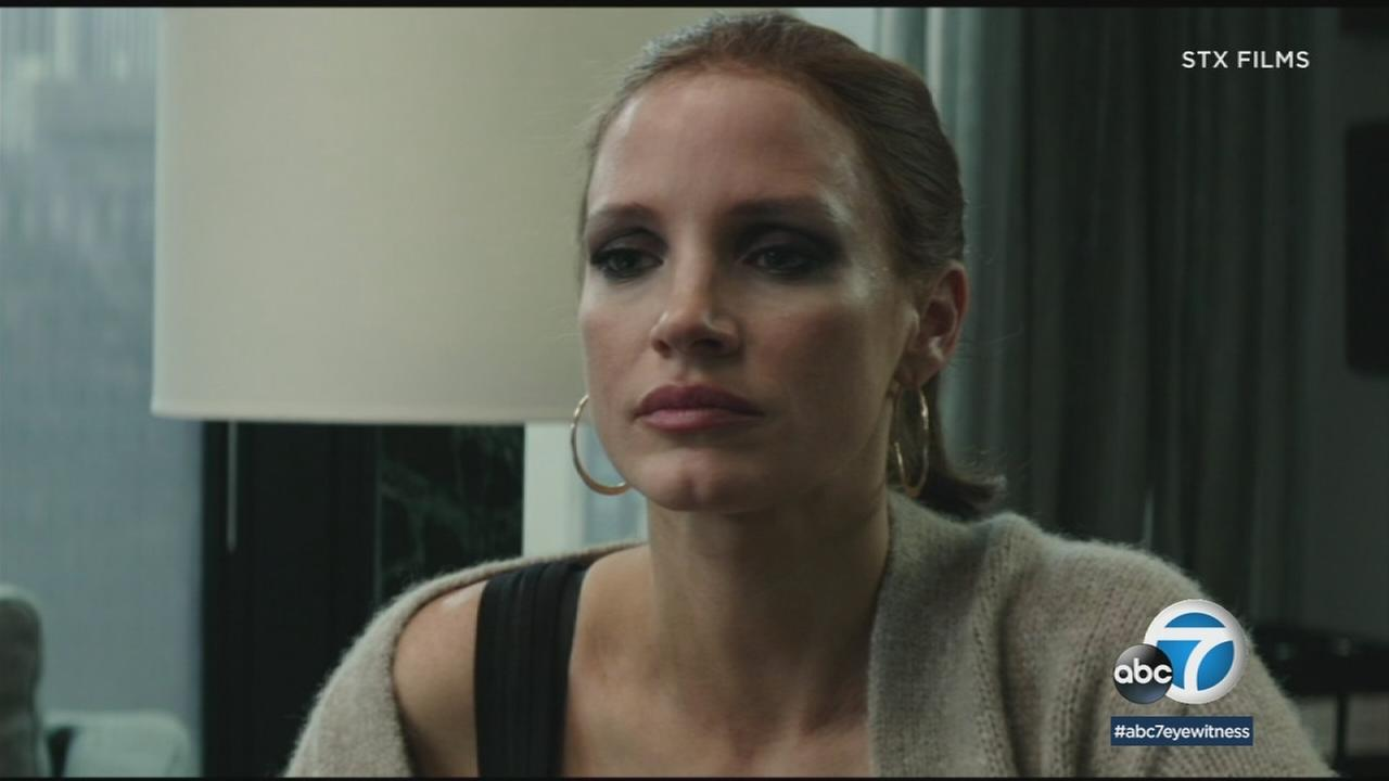 Jessica Chastain stars as a woman on the high-stakes poker circuit in Aaron Sorkins Mollys Game.