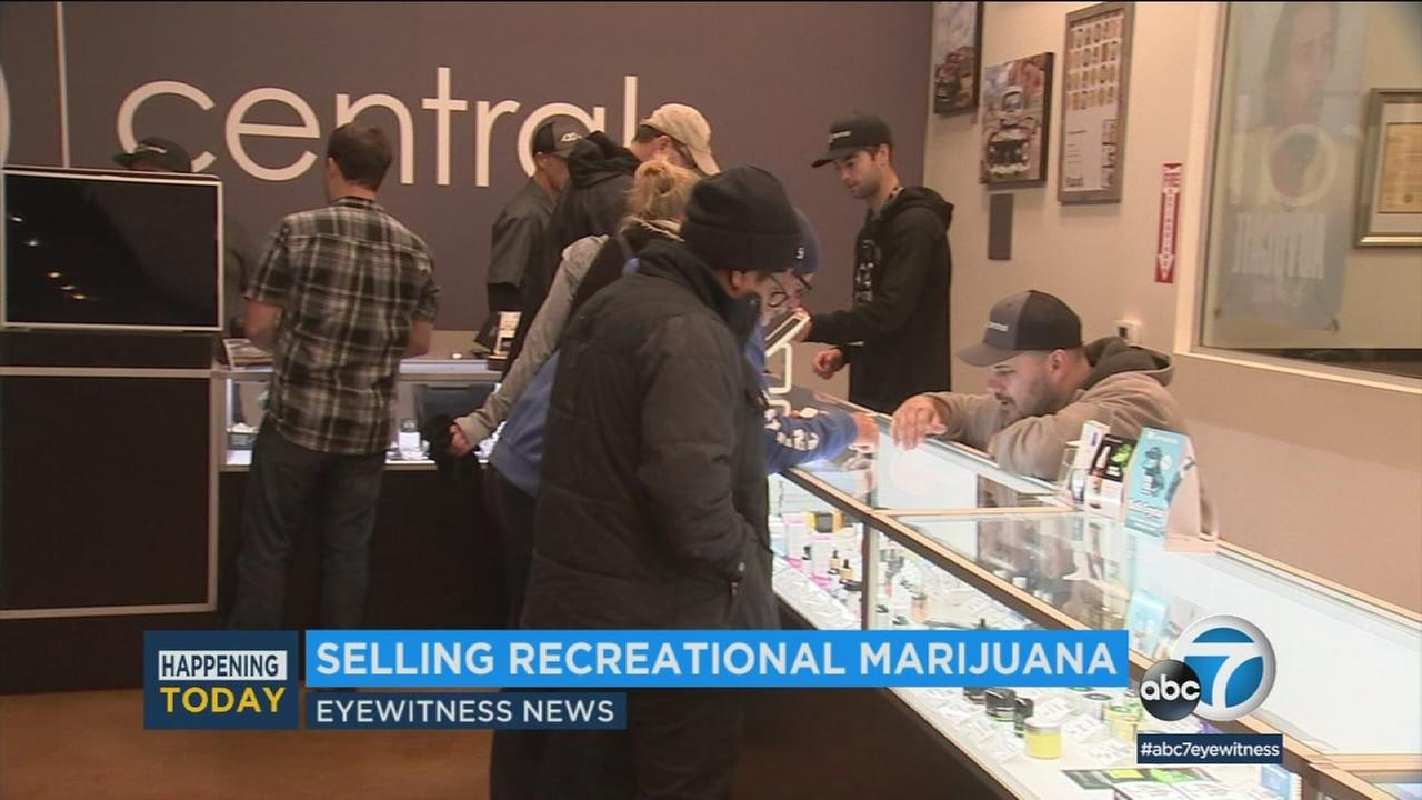 A marijuana dispensary is seen in this undated photo.