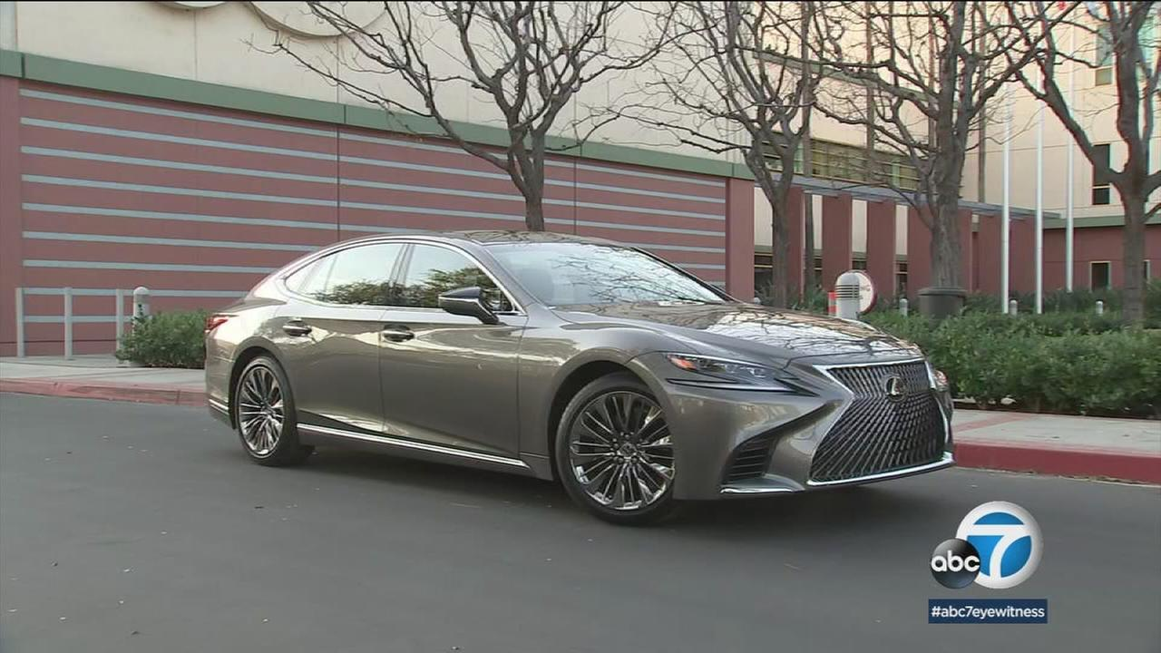 The new Lexus LS 500 is sculpted and sleek, offering a twin turbo V6 with 416 horsepower and improved fuel efficiency.