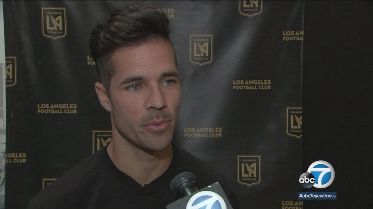 LAFC Benny Feilhaber talks about the franchises first season in the MLS.