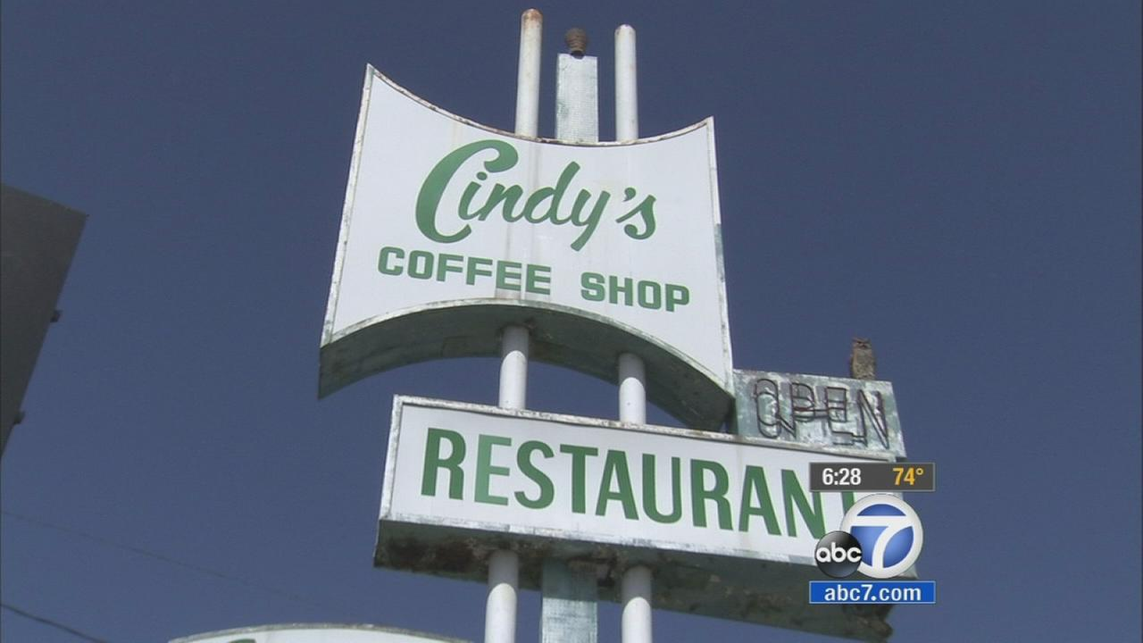 Owners of a 1950s-style diner in Eagle Rock are hoping for some help as they try to restore a piece of local history. The sign for the retro restaurant Cindys is in desperate need of repair, but the cost is high.