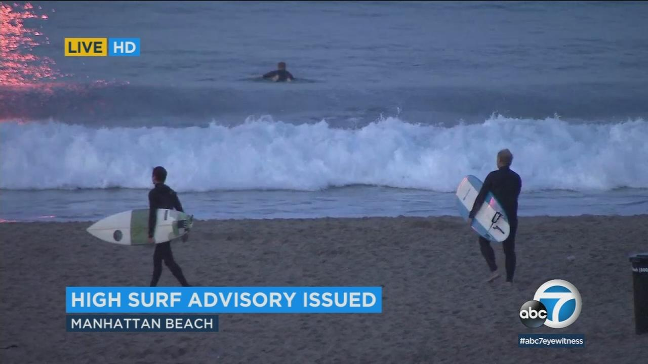 If Mondays warm temperatures have you thinking about hitting the beach, officials are urging you to be cautious around the water.