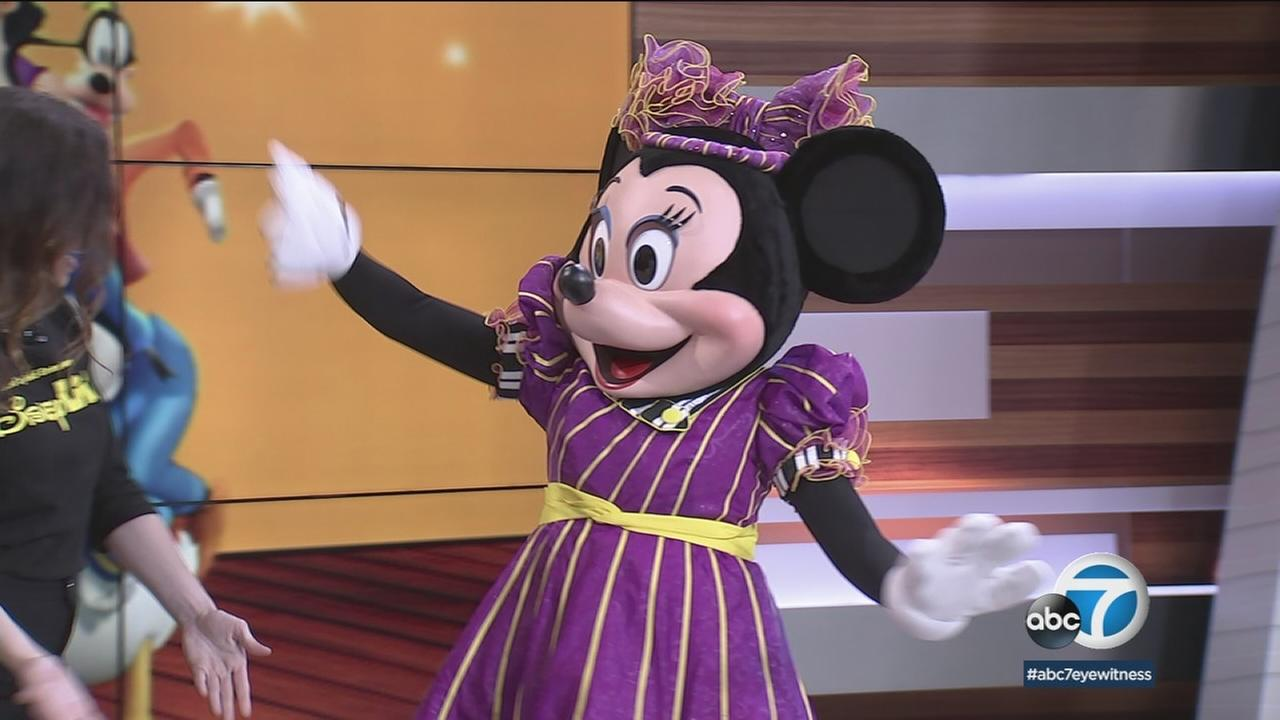 Minnie Mouse is appearing is the new Disney Live! show opening in Long Beach.