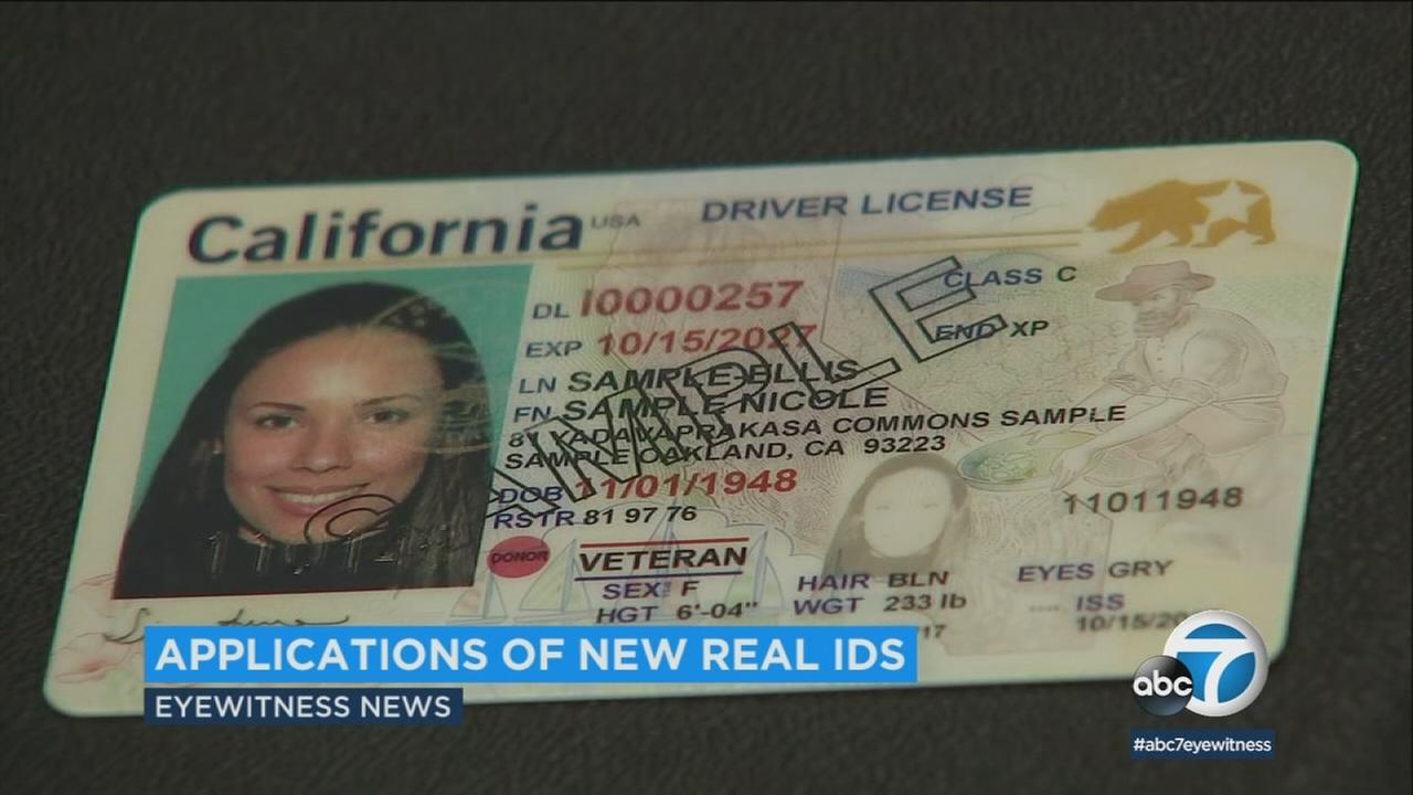 Accept Id Dmv Abc7 com To Begins Applications Real