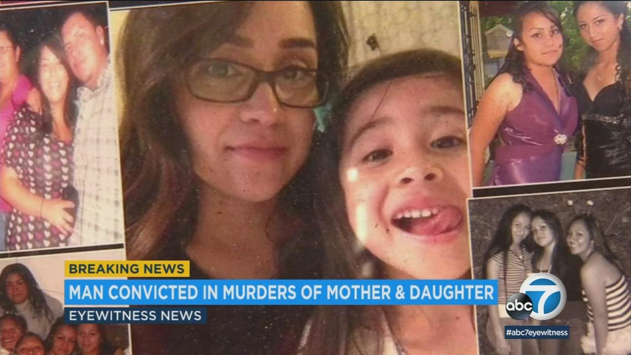 A jury found a 23-year-old Oklahoma man guilty Friday in the shooting deaths of a mother and her child in Long Beach in 2016.