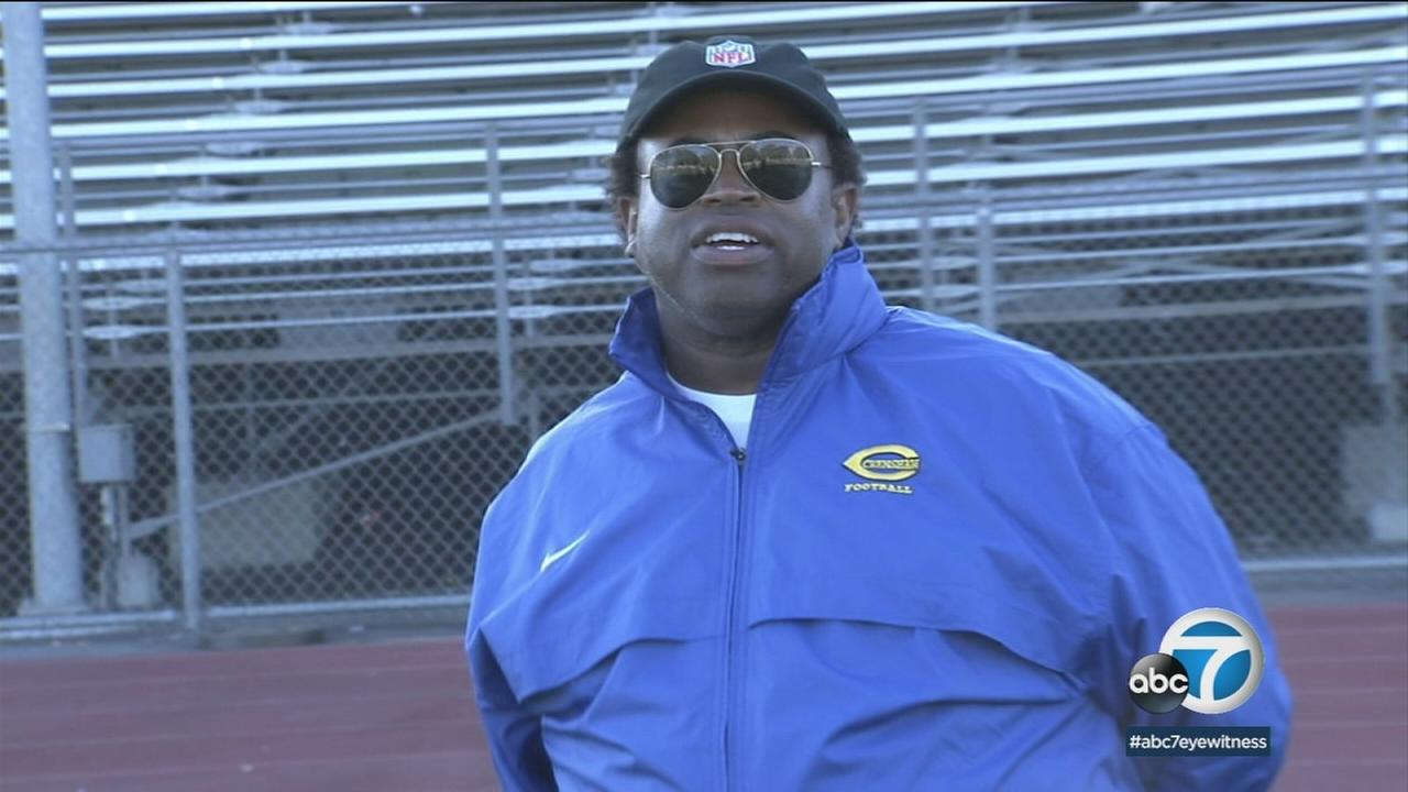 Crenshaw High Schools football coach, Robert Garrett, has been named the Don Shula NFL High School Coach of the Year.