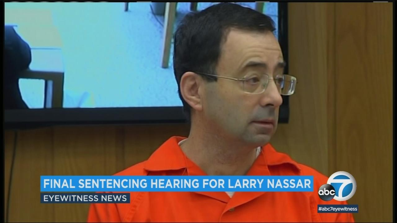 An undated photo shows Larry Nassar, who attended his final sentencing on Wednesday, Jan. 31, 2018.
