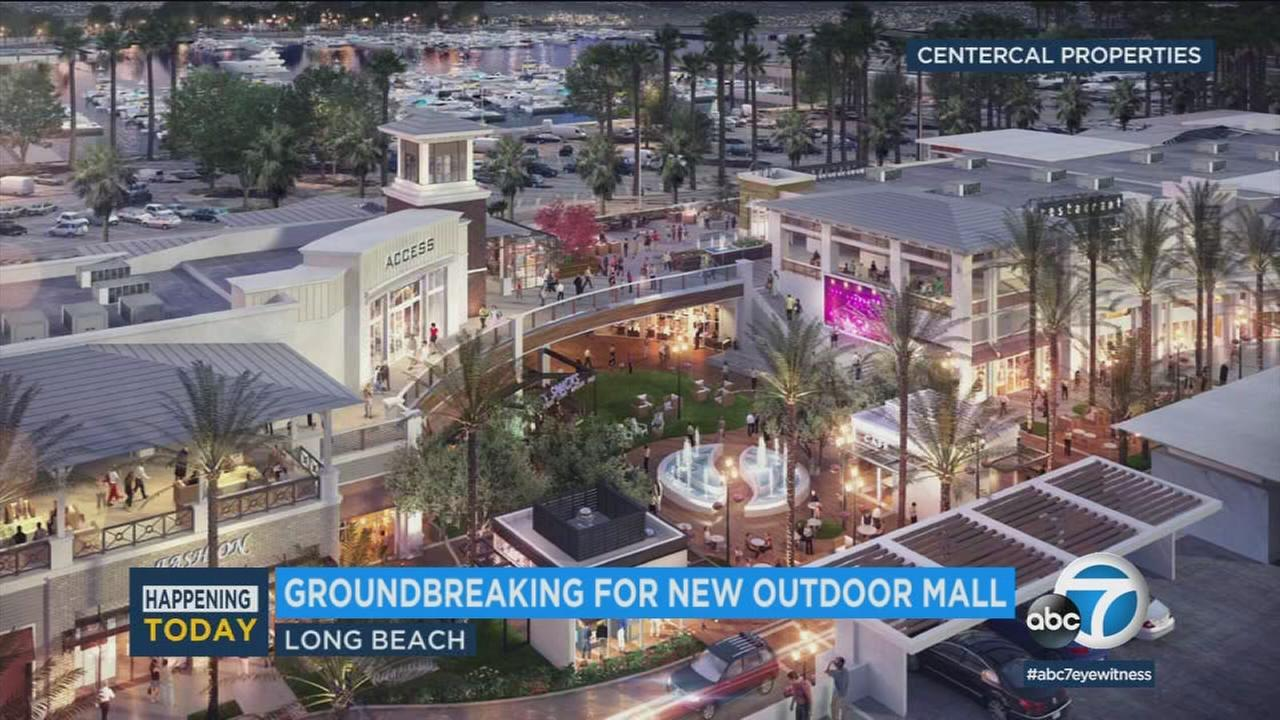 This rendering shows what the new 2nd and PCH shopping center will look like upon completion.