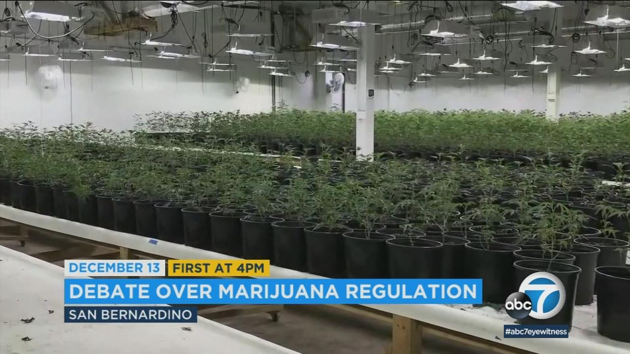 The San Bernardino City Council voted to extend a moratorium on new permits for commercial marijuana sales until at least December.