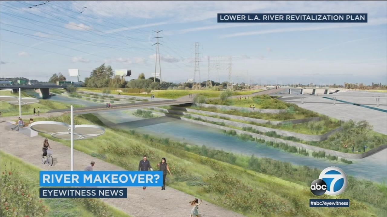 A long stretch of the Los Angeles River could be getting a state-of-the art makeover, transforming into miles of recreational areas and community space.