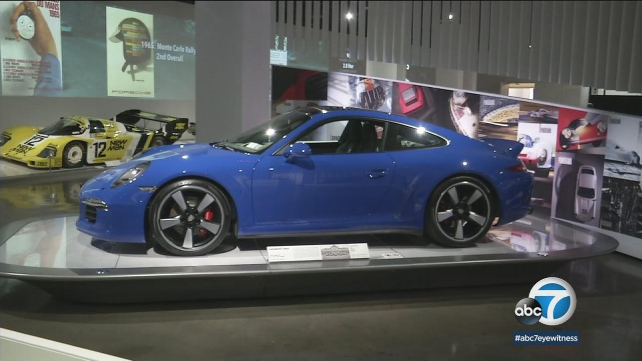 For the next year, youll be able to see an ultimate Porsche display at the Petersen Automotive Museum called The Porsche Effect.