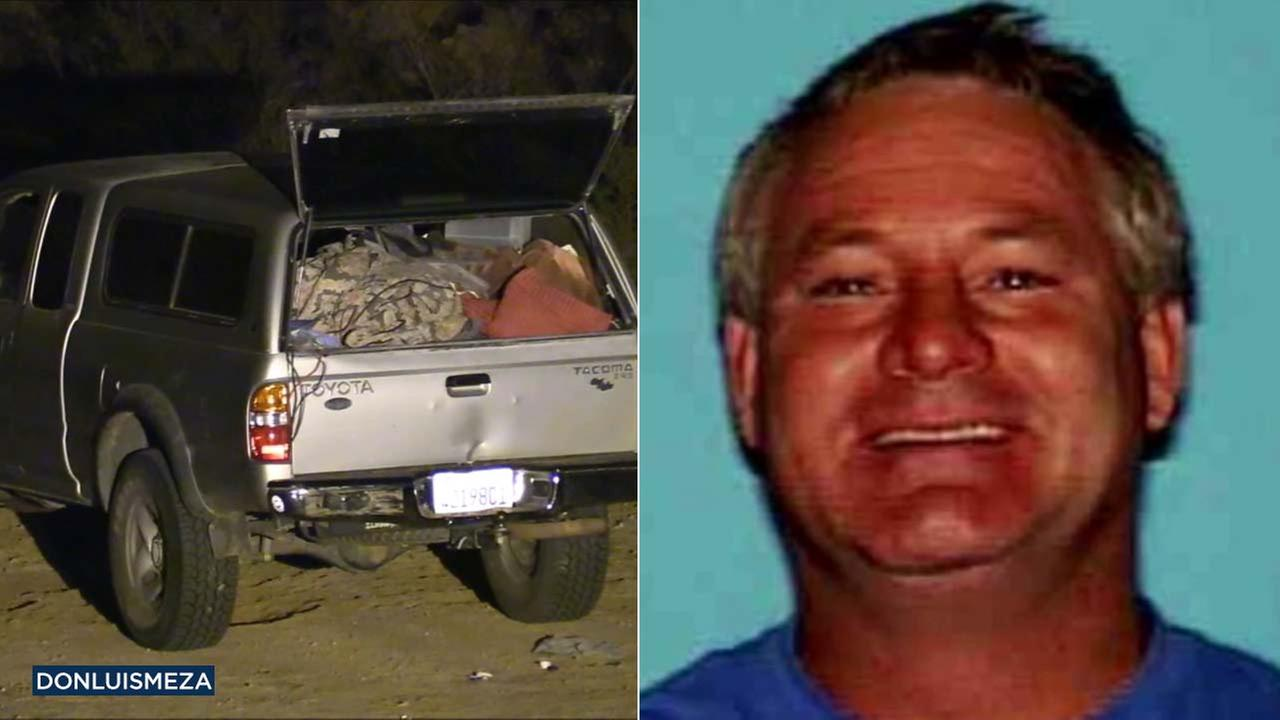 A car was discovered in a remote area of Lancaster on Sunday, Feb. 4, 2018.
