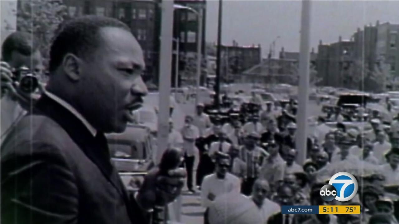 Dr. Martin Luther King Jr. is seen in this undated file photo.
