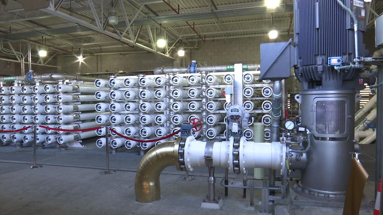 The Torrance Groundwater Desalter Facility is shown in a photo.