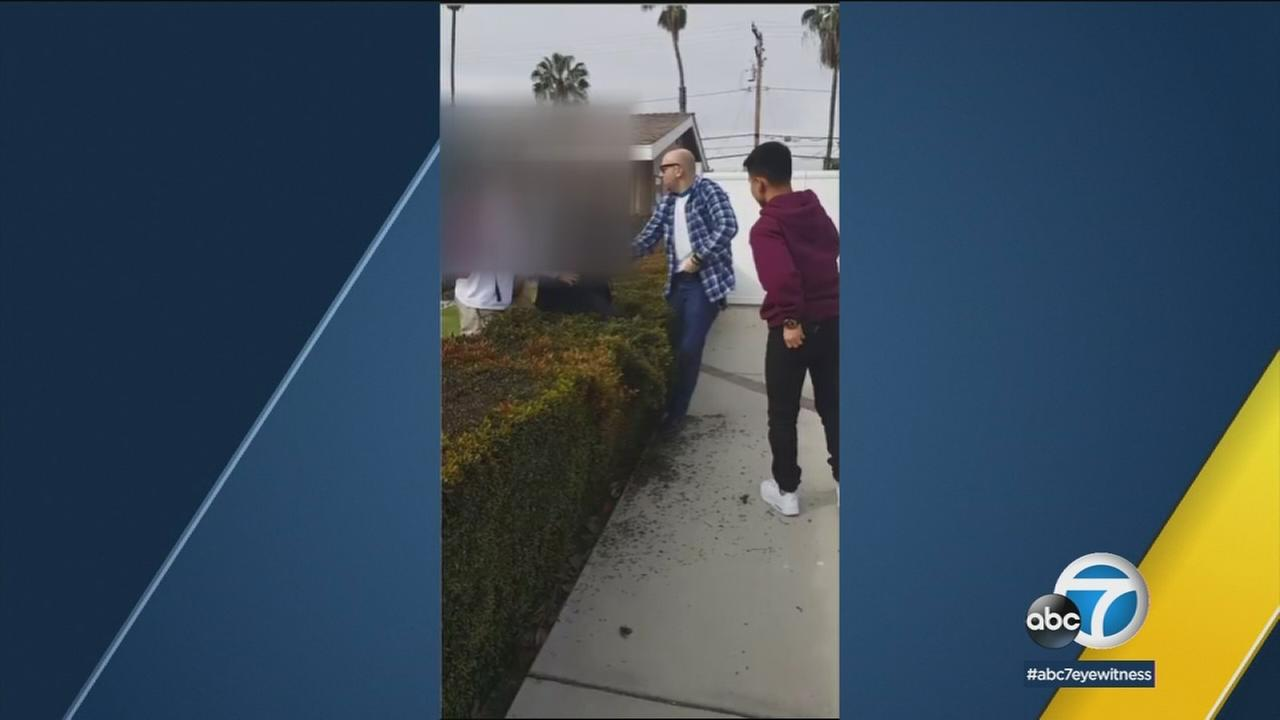 The Los Angeles Police Commission said the off-duty LAPD officer who fired a gun during a scuffle with a 13-year-old in his Anaheim yard violated department policy.