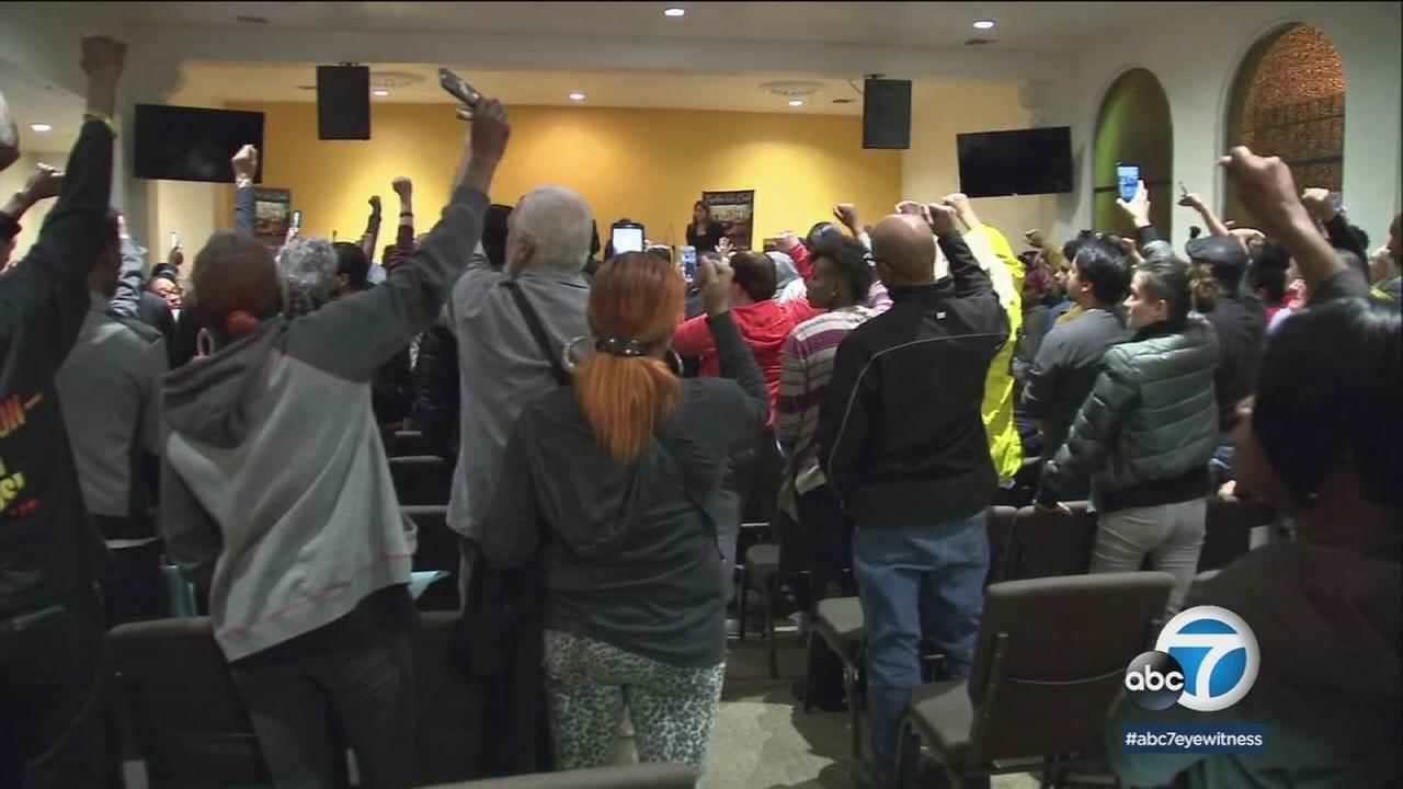 Community members in Westmont voiced their outrage during a meeting over the shooting of a teenager.