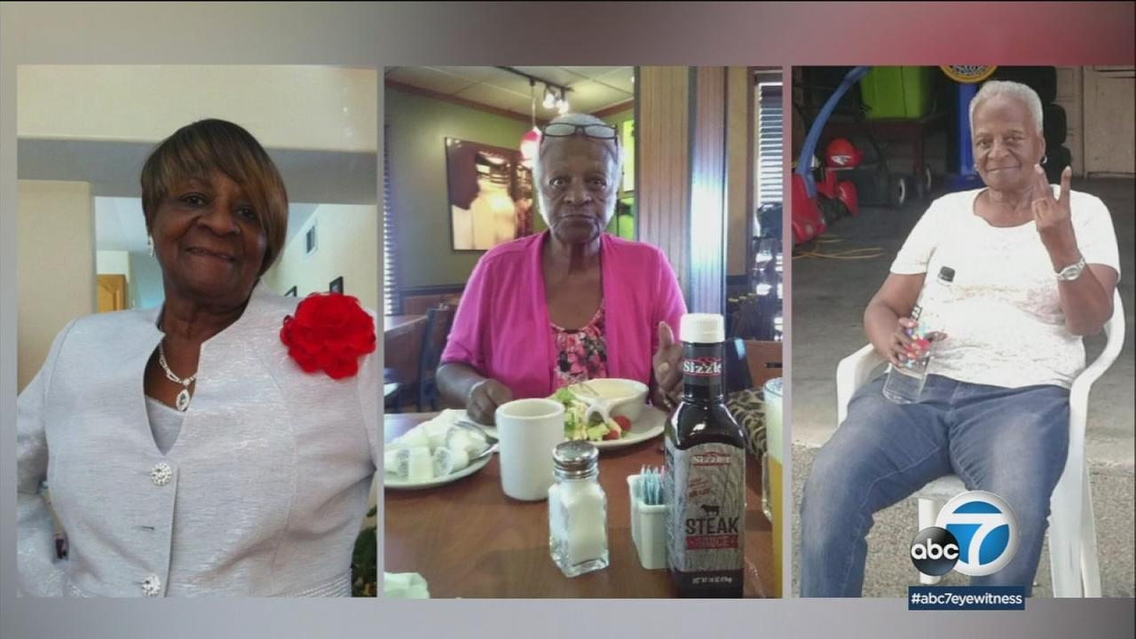 Doris Doss, 84, is shown in a series of photos provided by her family.