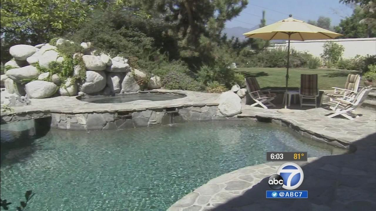A pool in Orange County is shown in this undated file photo.