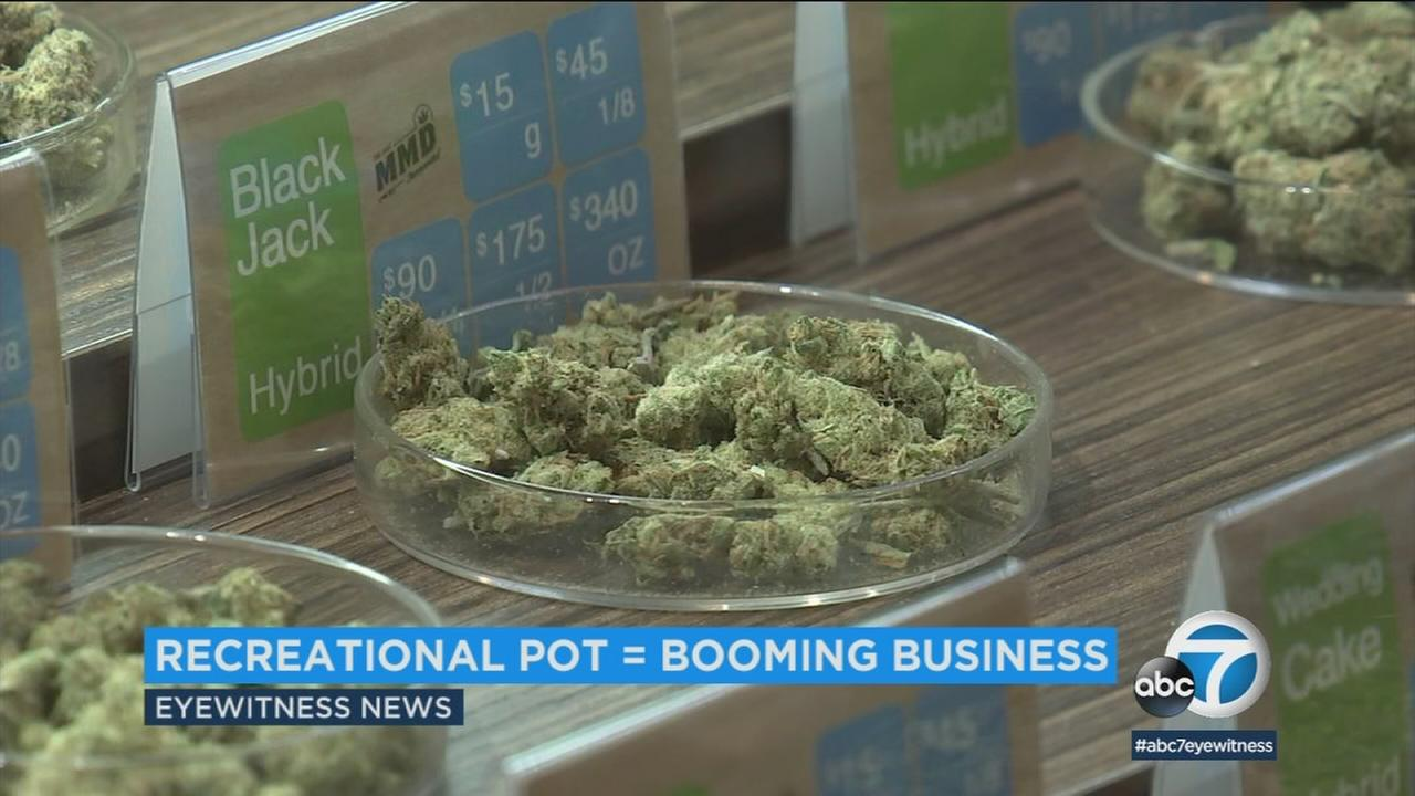 Despite reluctance by local governments to issue permits for marijuana sales, January numbers shows the industry is thriving.