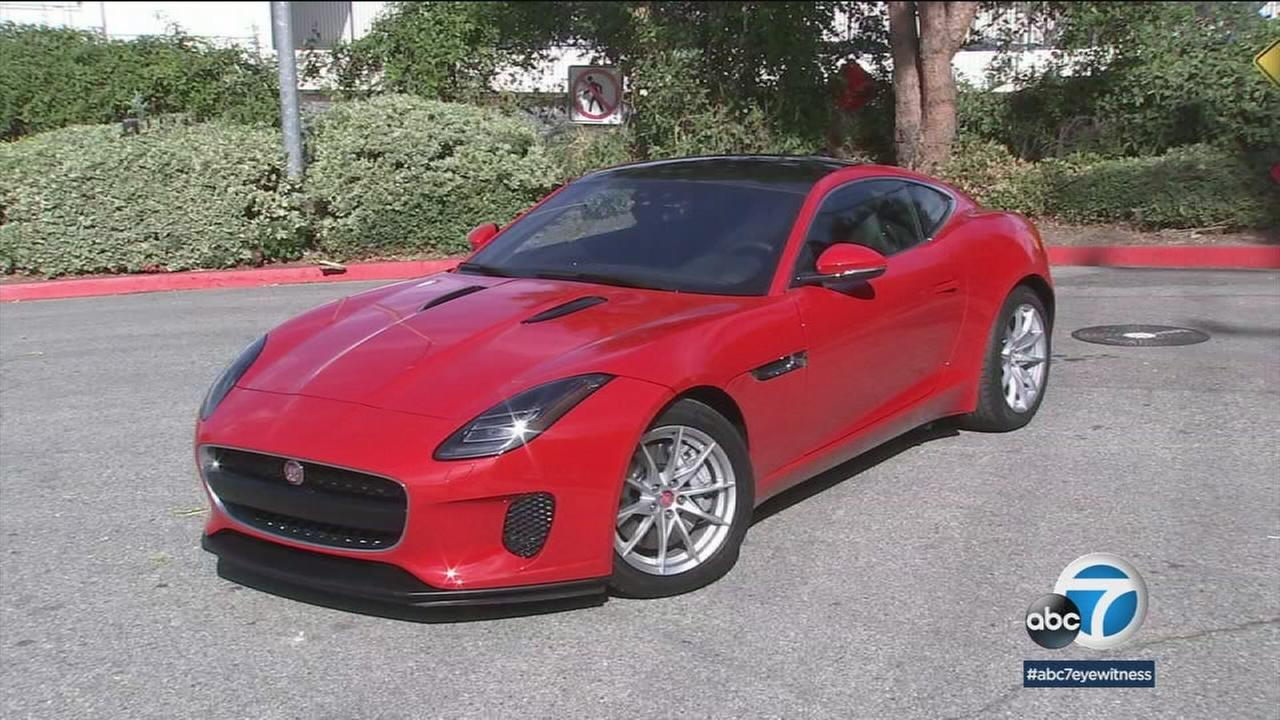 Sports cars like the Jaguar F-type are showing better fuel economy these days.