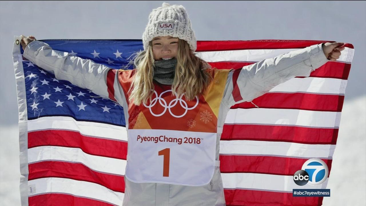 You could say the students at La Palma Christian School are a little bit excited about their famous former classmate Chloe Kim.