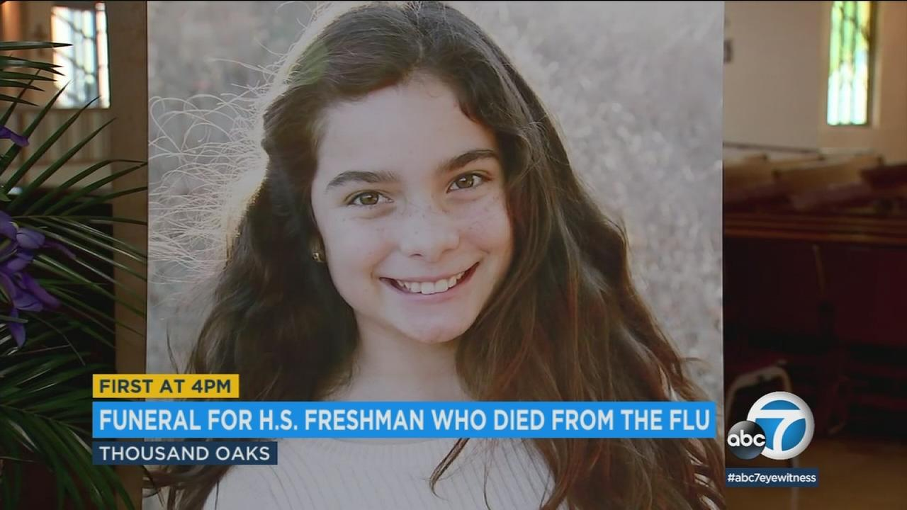 It was standing room only as more than 1,000 mourners gathered at Saint Maximilian Kolbe Catholic Church in Thousand Oaks to celebrate the life of 14-year-old Gabriella Chabot.