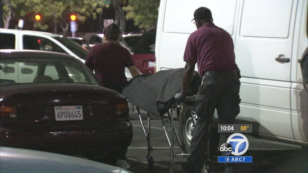 The body of Miguel Perez was found in the trunk of a car at a Walmart in Riverside Saturday, Sept. 13, 2014.
