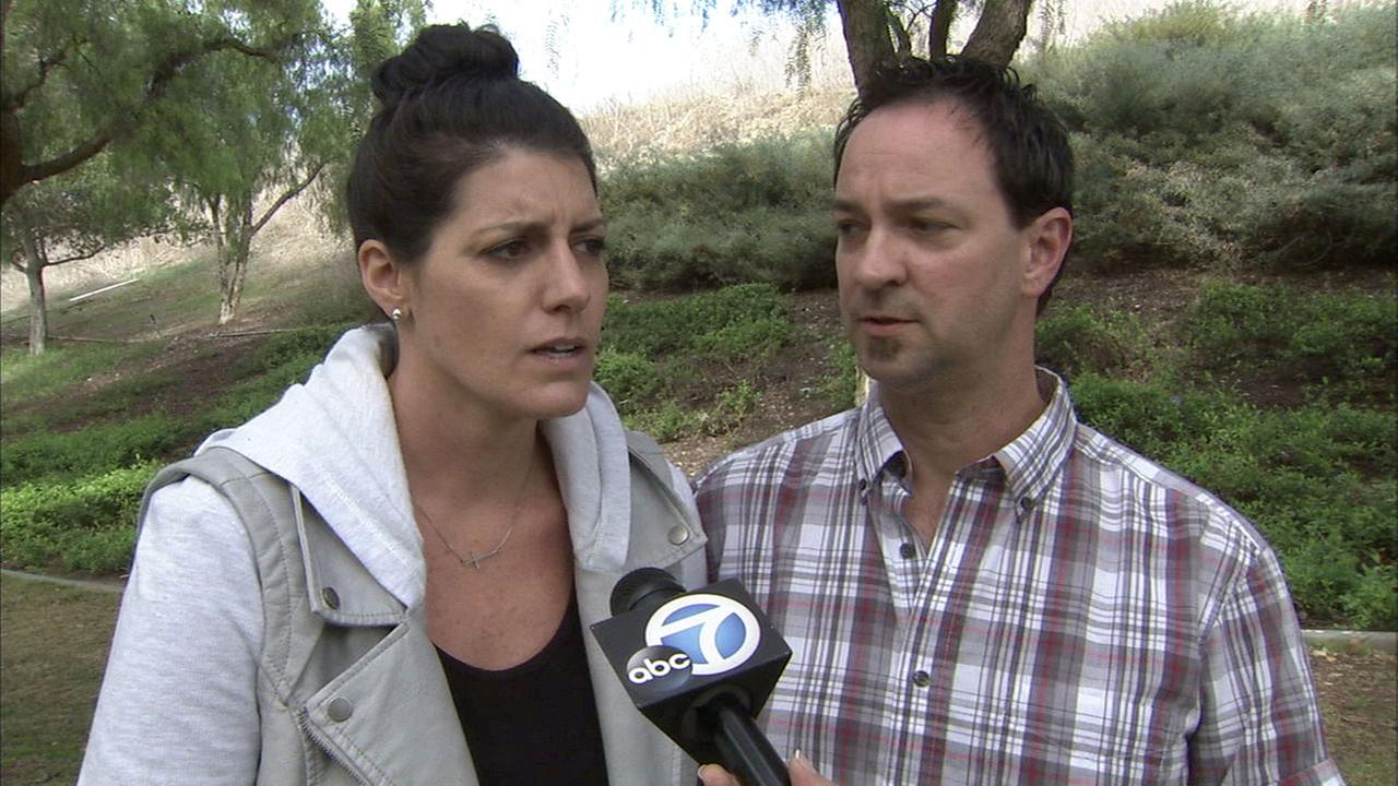 Natalia and Randall Bergman are suing an Orange County fertility clinic they say lost their embryos.