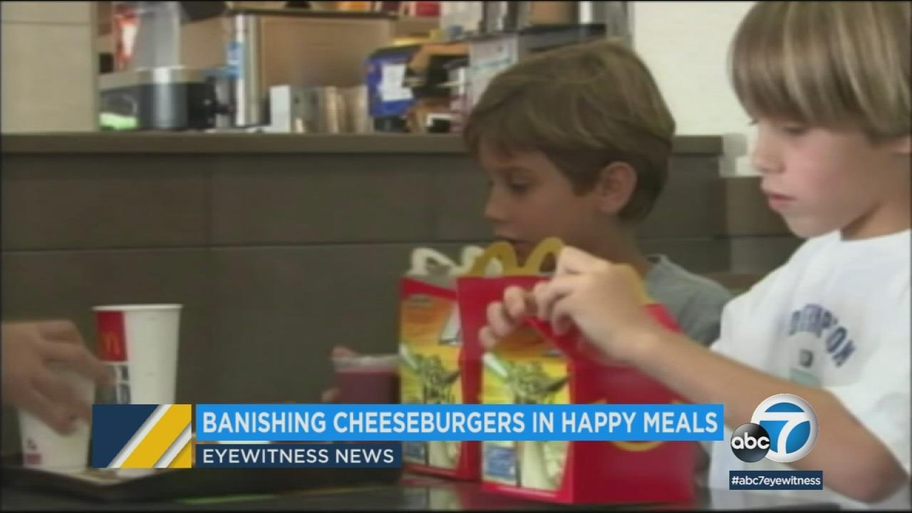 Its as iconic as the golden arches, but McDonalds is making some major changes to its Happy Meal.
