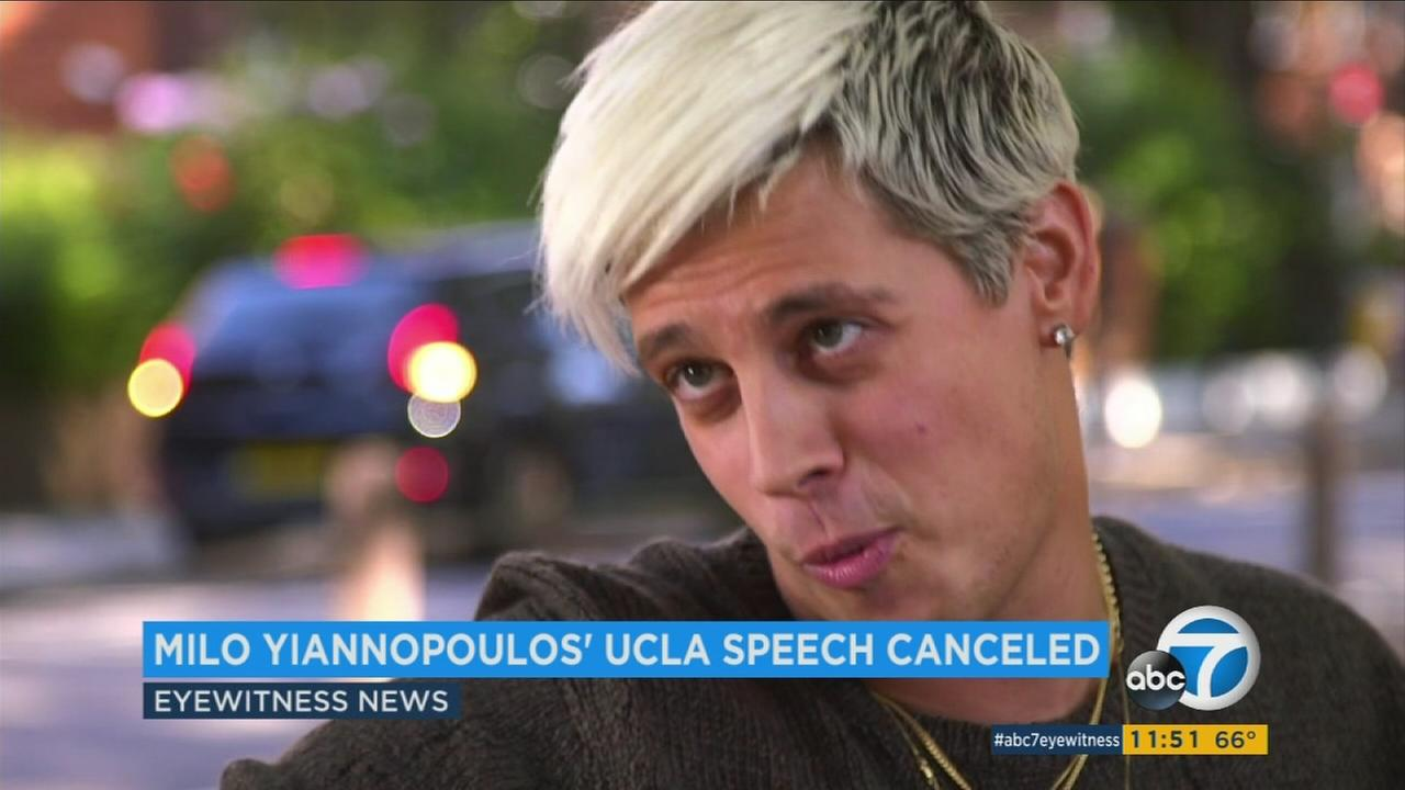 Milo Yiannopoulos is seen in an undated photo.