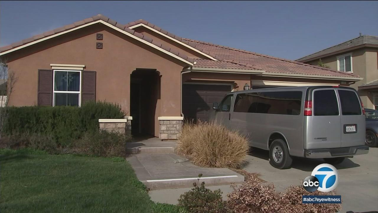 A break-in was reported at the Perris home where David and Louise Turpin allegedly held their 13 children captive.