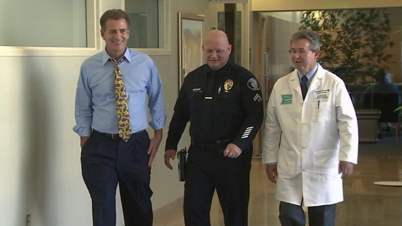 A corporal with the Santa Ana Police Department is helping raise awareness for organ donation.