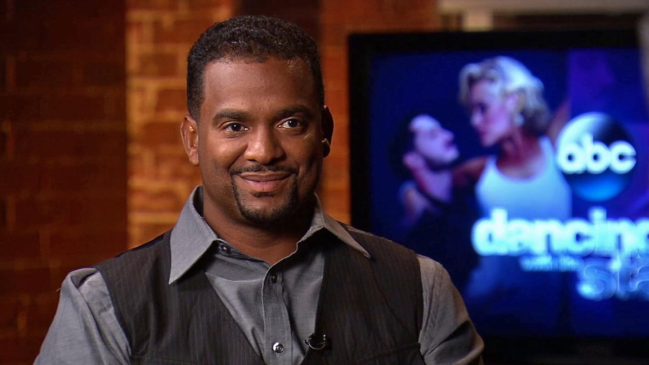 Alfonso Ribeiro talks about season 19 of Dancing With The Stars in this photo from Sept. 2014.