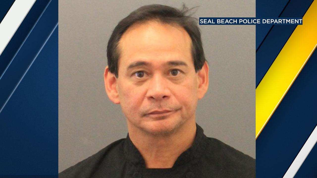 Police arrested a 55-year-old man who works as a chef at a Seal Beach restaurant on rape charges.